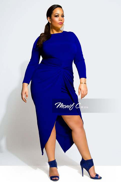 Plus Size Collection by American Brand Monif C. Spring-Summer 2016