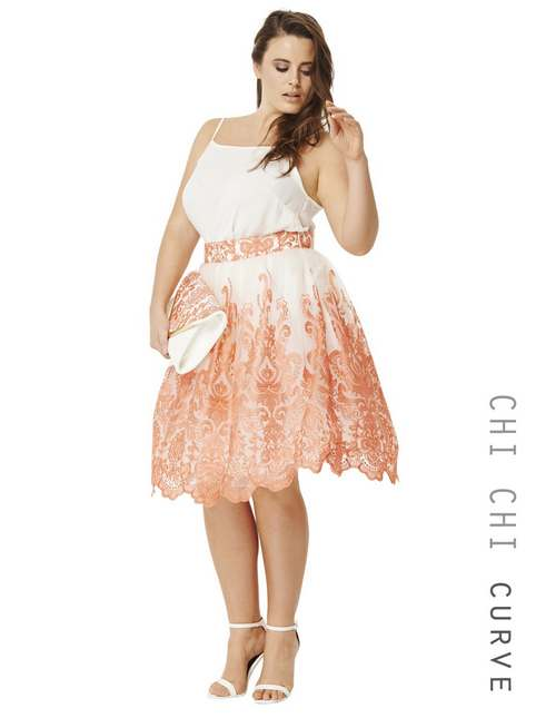 Plus Size Dresses by British Brand Chi Chi, Spring-Summer 2016