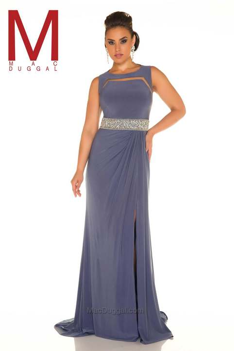 Plus Size Prom Dresses by American Brand Mac Duggal, Spring-Summer ...