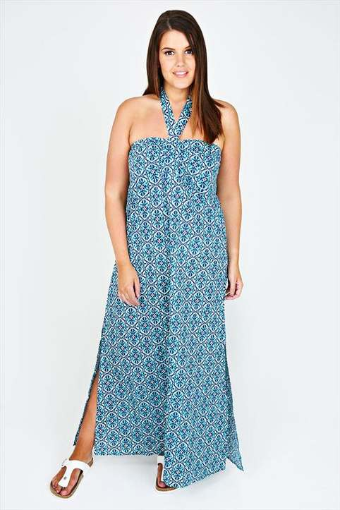 Plus Size Long Sundresses by British Brand Yours, Summer 2016